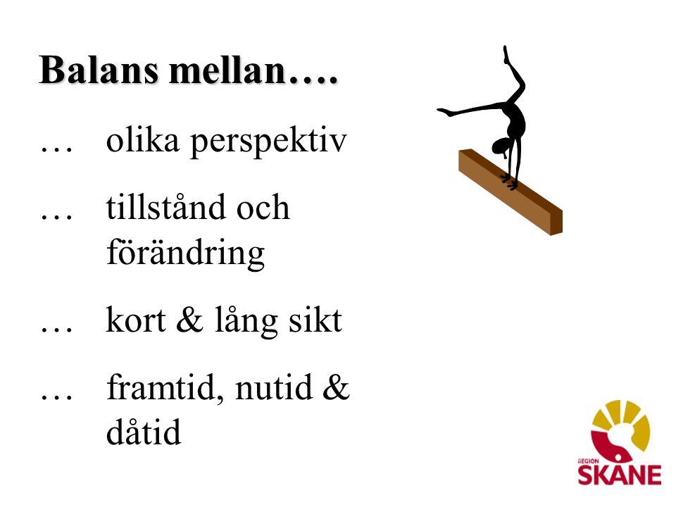 Uppdraget Att med utgångspunkt från övergripande visioner, mål och strategier för hälso- och sjukvården i Region Skåne utarbeta balanserade styrkort för uppföljning av verksamheten ur ett beställarperspektiv.