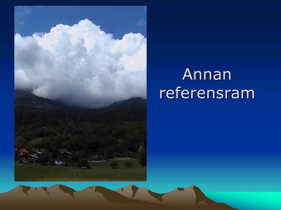 Annan referensram