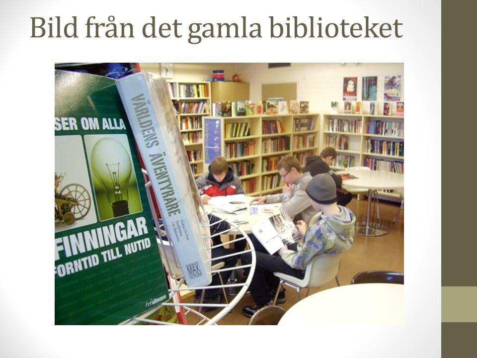 Biblioteket är öppet alla raster