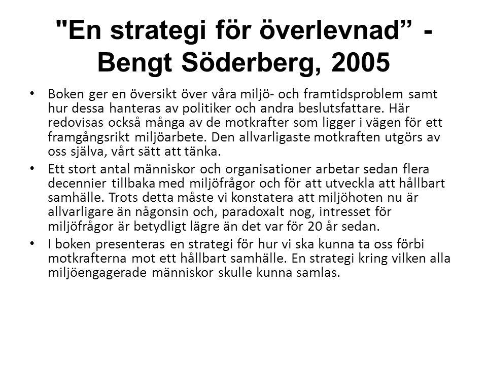 Svart Jord - Sambandet mellan olja och mat - av Gunnar Lindstedt 2008 • Klarar jordbruket att leverera vårt dagliga bröd när oljan sinar?.