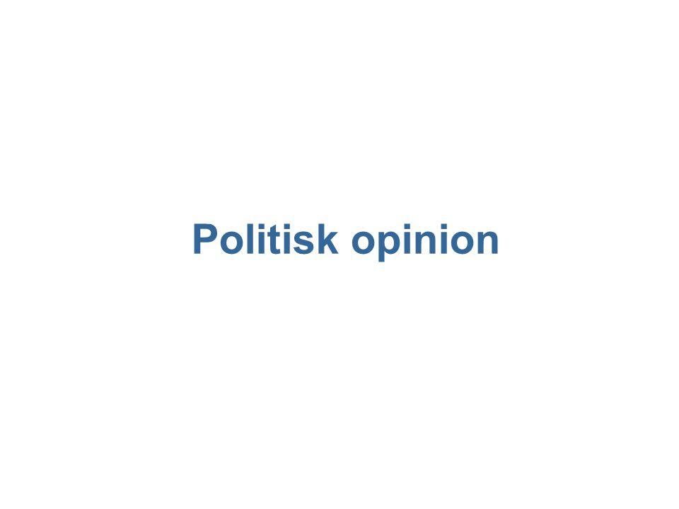 Politisk opinion