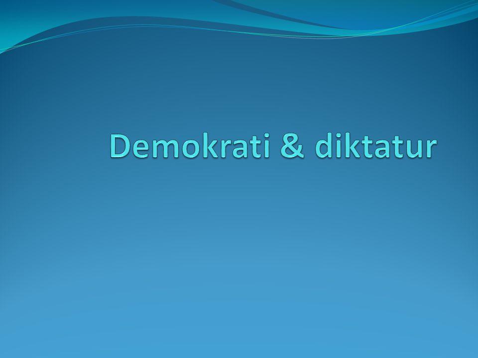  Demokrati kommer från det antika Grekland, 500 f.