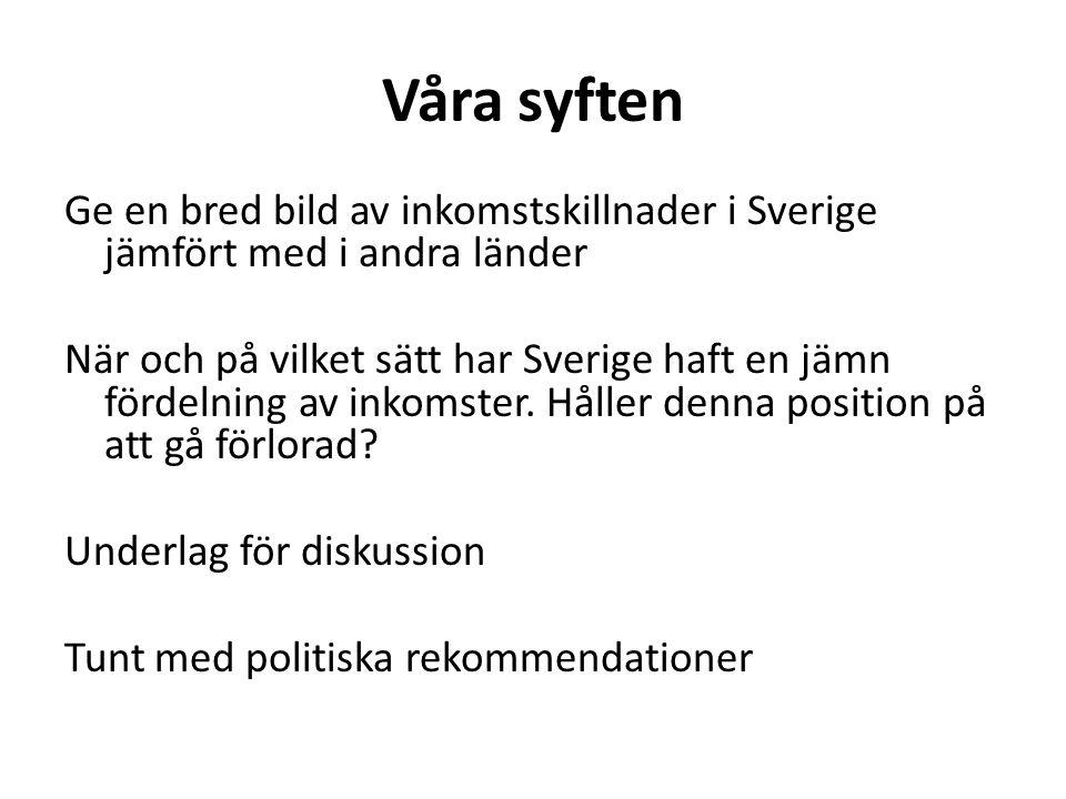 Tolkning 2: en dynamisk politisk- ekonomisk process