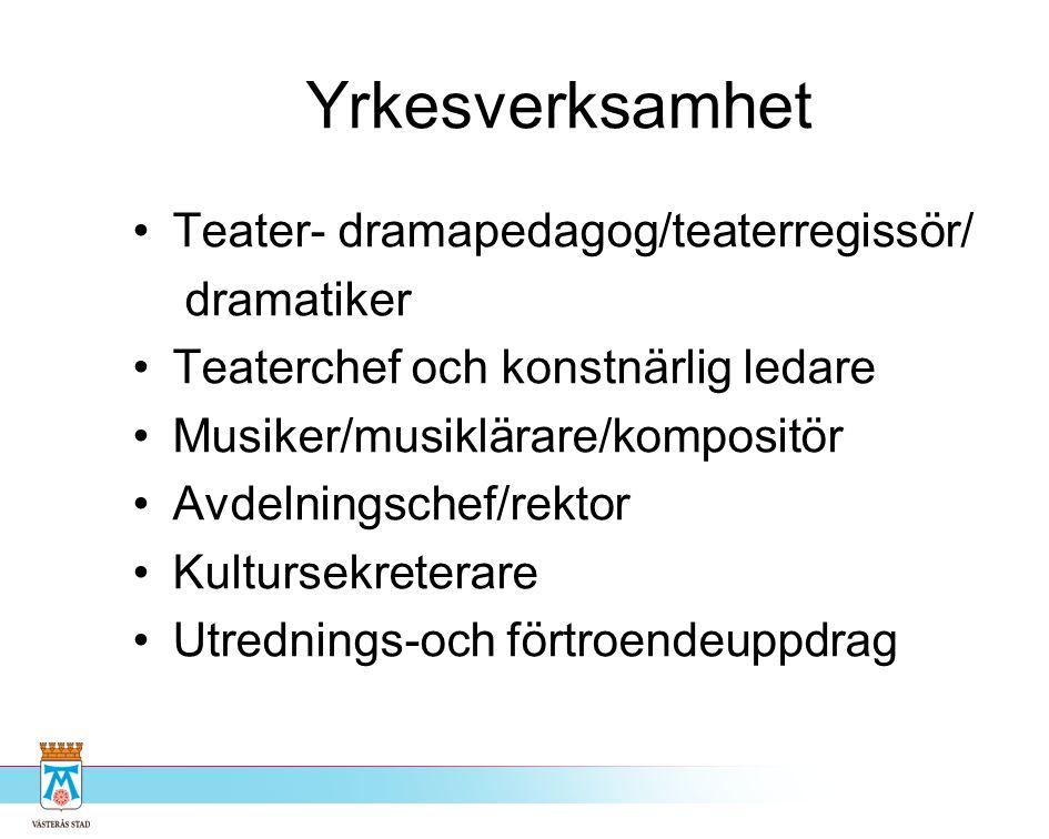 Kultur i äldreomsorgen Västerås
