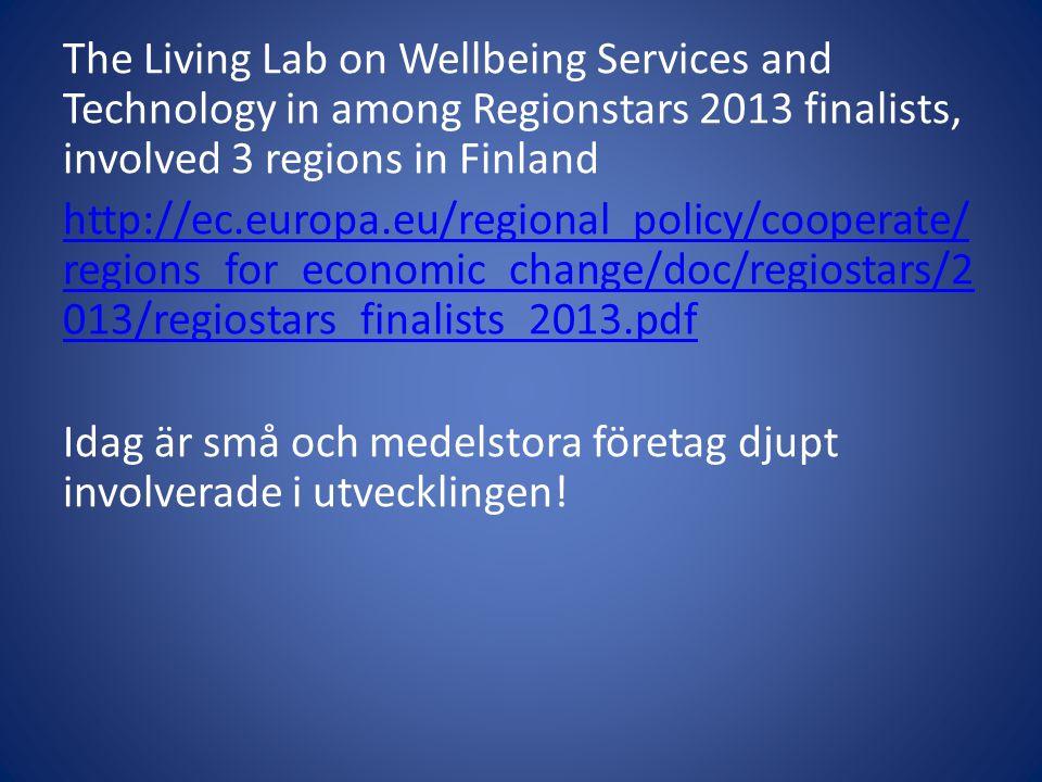 Projekt KÄKÄTE 2010-14 Genomförs tillsammans med The Union for Senior Services och Centralförbundet för de gamlas väl.