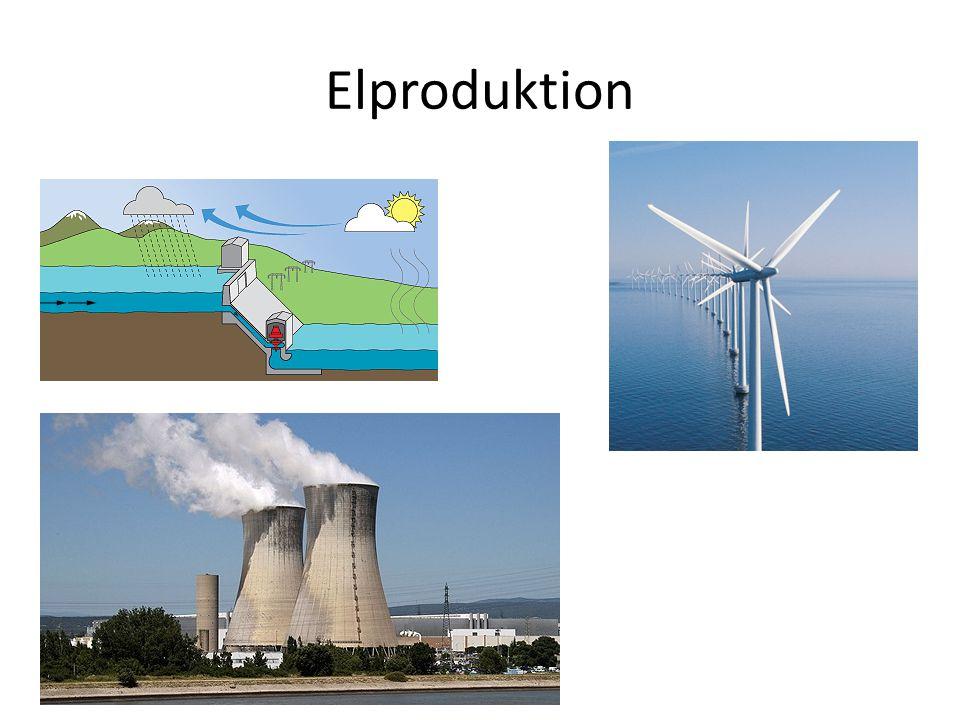 Hur el bildas: • El kan bildas genom att någon form utav naturligt element (exempelvis vatten eller vind) skapar en rörelse som sedan bildar elektricitet.
