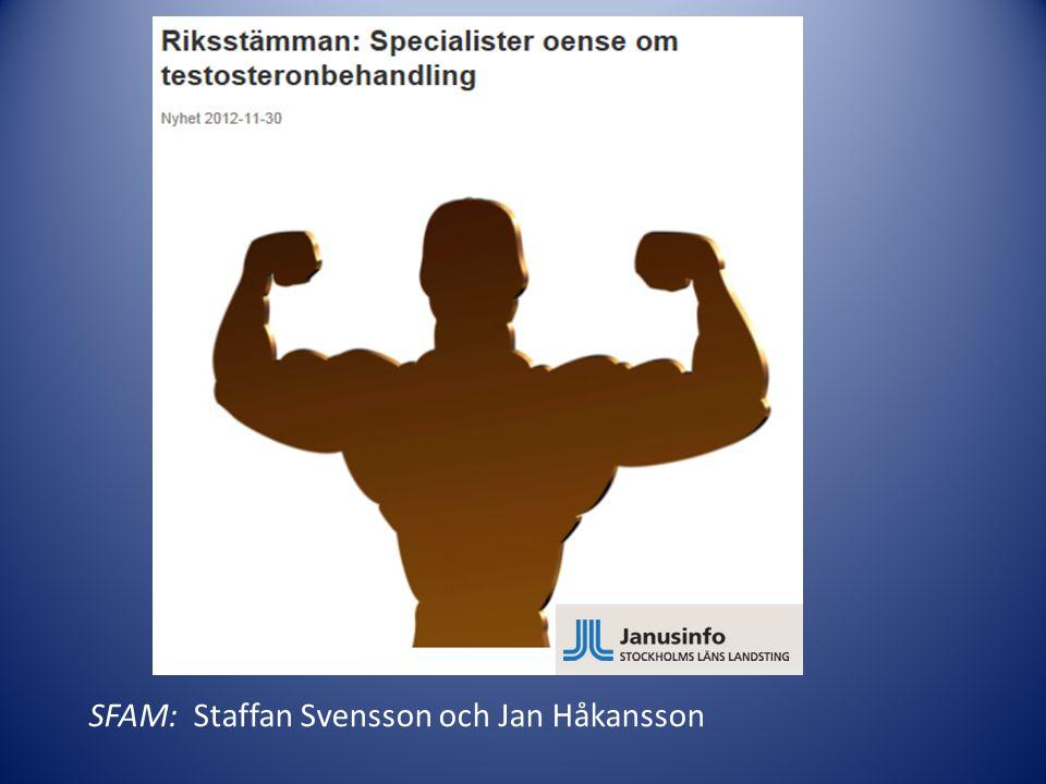 SFAM: Staffan Svensson och Jan Håkansson