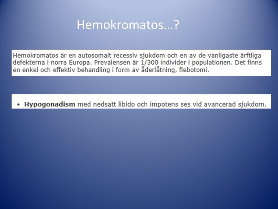 Hemokromatos…?