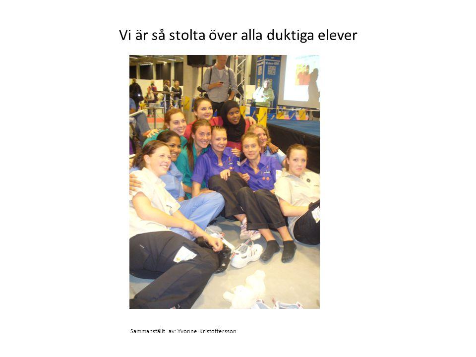 Vi är så stolta över alla duktiga elever Sammanställt av: Yvonne Kristoffersson