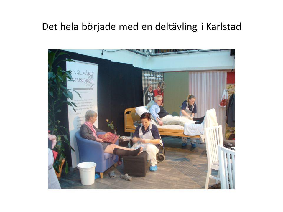 Det hela började med en deltävling i Karlstad