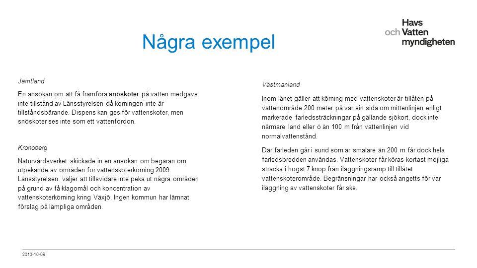 """För att ändra/uppdatera/ta bort """"Presentationsnamn"""" och """"Namn"""" i foten, gå in på """"Infoga - Sidhuvud/sidfot"""" Några exempel Jämtland En ansökan om att f"""