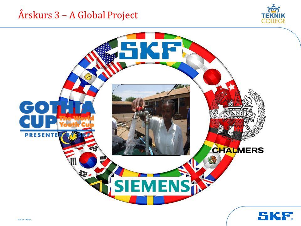 © SKF Group Årskurs 3 – A Global Project