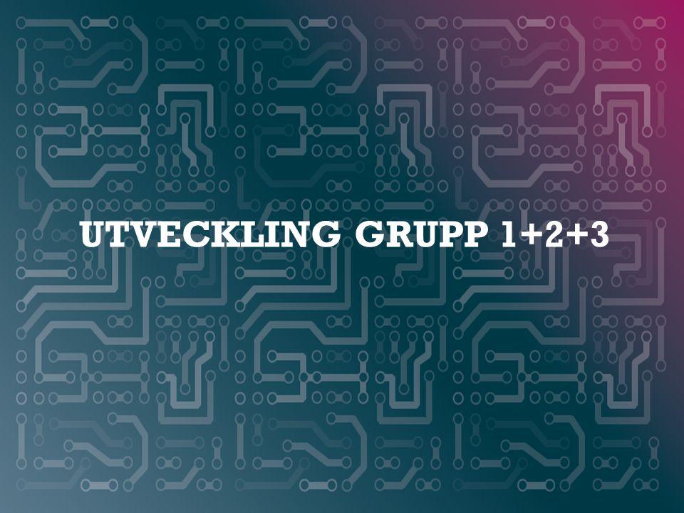 WWW.SMARTAREELEKTRONIKSYSTEM.SE UTVECKLING GRUPP 1+2+3