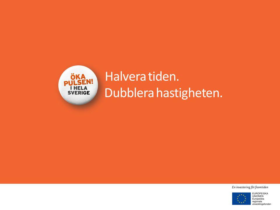 Har stöd från EU-kommissionen • Botniska korridoren en del i Core Network - EUs nya stomnät.