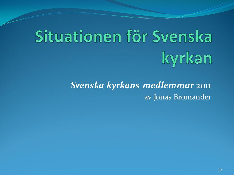 Svenska kyrkans medlemmar 2011 av Jonas Bromander 32