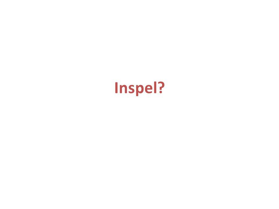 Inspel?