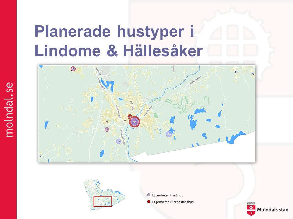 molndal.se Planerade hustyper i Lindome & Hällesåker