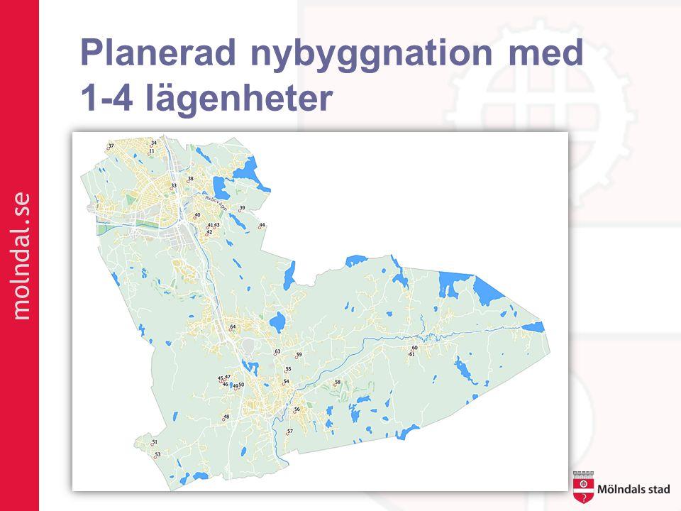 molndal.se Planerad nybyggnation med 1-4 lägenheter