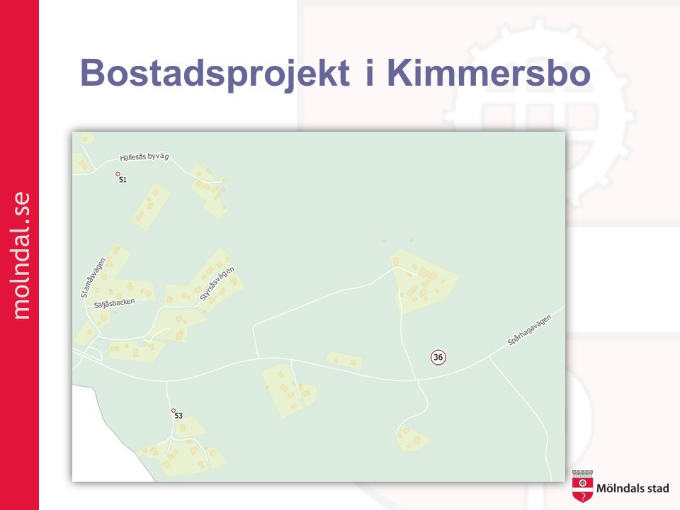 molndal.se Bostadsprojekt i Kimmersbo