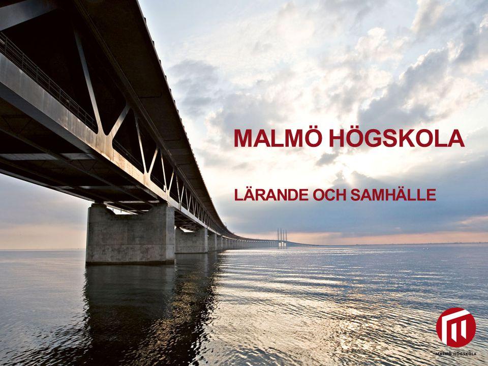 2010 05 04 LÄRANDE OCH SAMHÄLLE Malmö högskola erbjuder fyra lärarutbildningar: • Förskollärare • Grundlärare • Ämneslärare • Yrkeslärare Samt utbildnings- program för: • Specialpedagoger • Speciallärare • Studie- och yrkesvägledare • Idrottsvetare