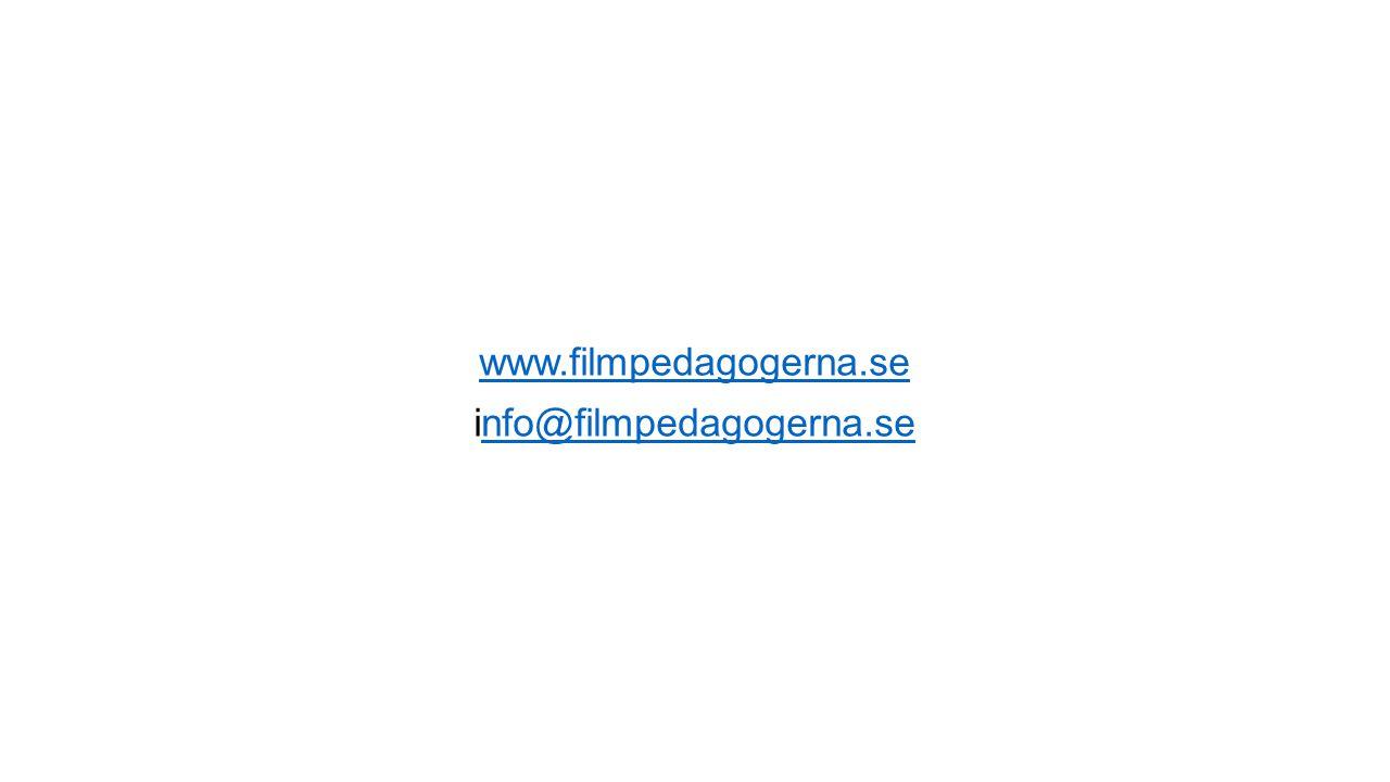 www.filmpedagogerna.se info@filmpedagogerna.senfo@filmpedagogerna.se