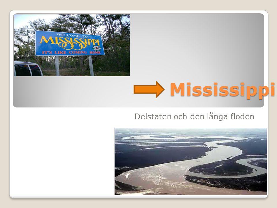 Mississippi Delstaten och den långa floden