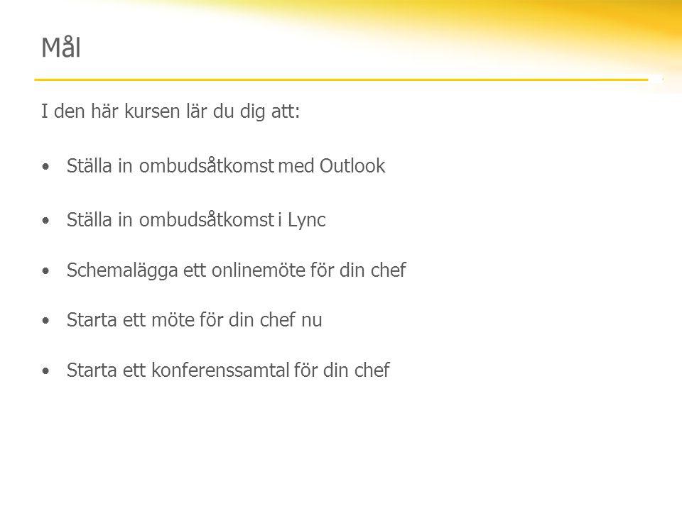 Ställa in ombudsåtkomst med Outlook 2007 1.Klicka på Verktyg och sedan på Alternativ.