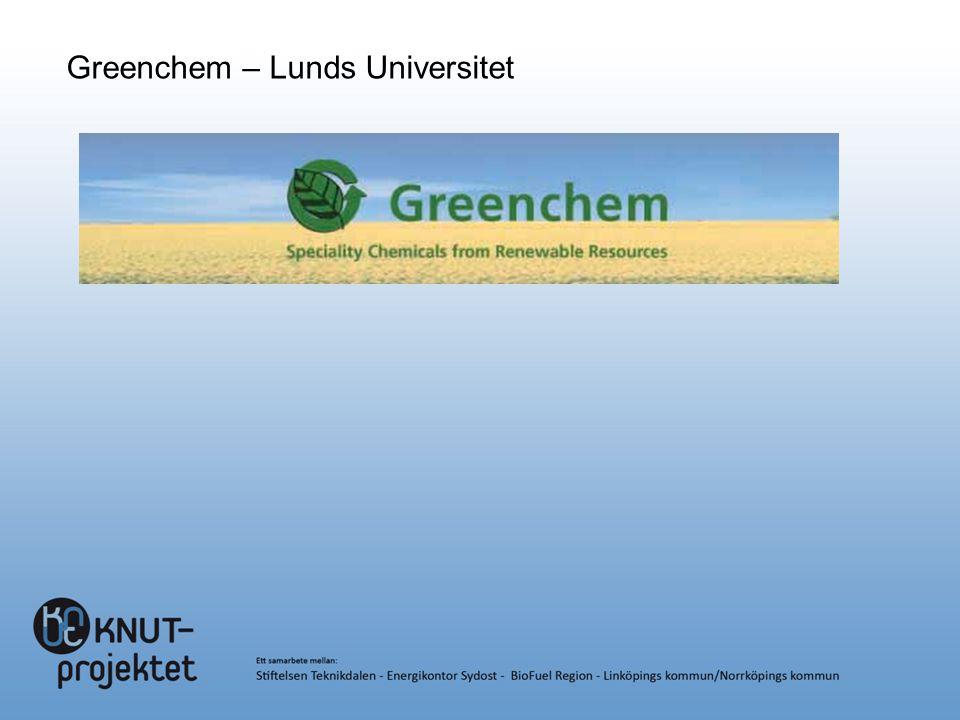 Greenchem – Lunds Universitet
