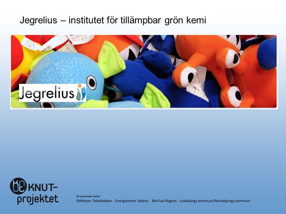Jegrelius – institutet för tillämpbar grön kemi