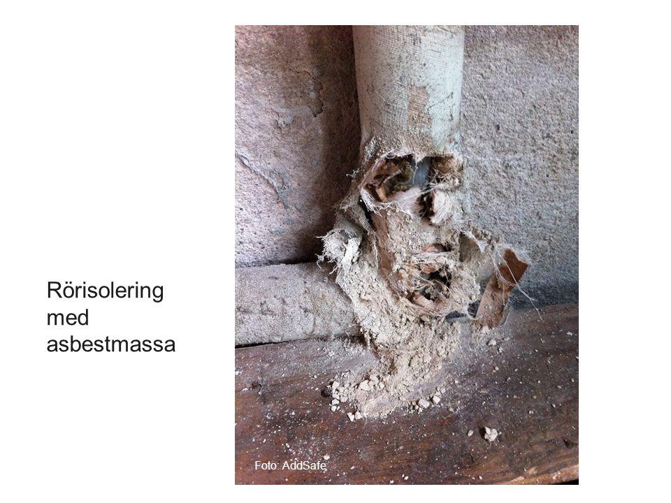 Foto: AddSafe Rörisolering med asbestmassa