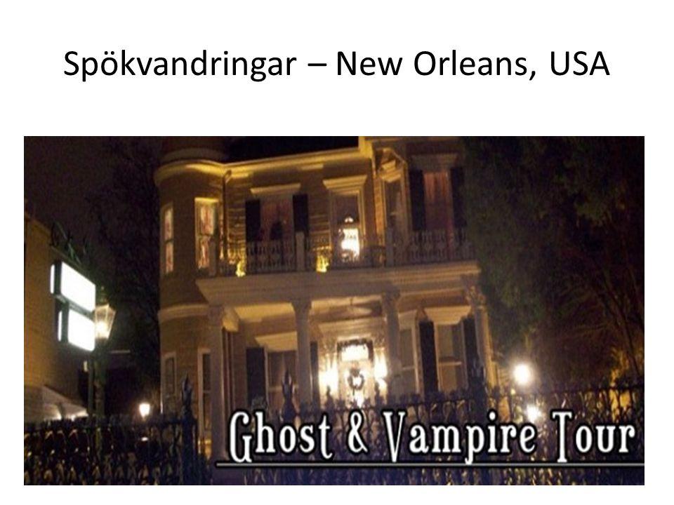 Spökvandringar – New Orleans, USA