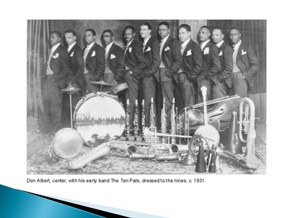  Nu utvecklades New Orleansstilen från det kollektiva (alla spelar samtidigt) till att bli mer nyanserat samspel mellan solist & orkester och de förs