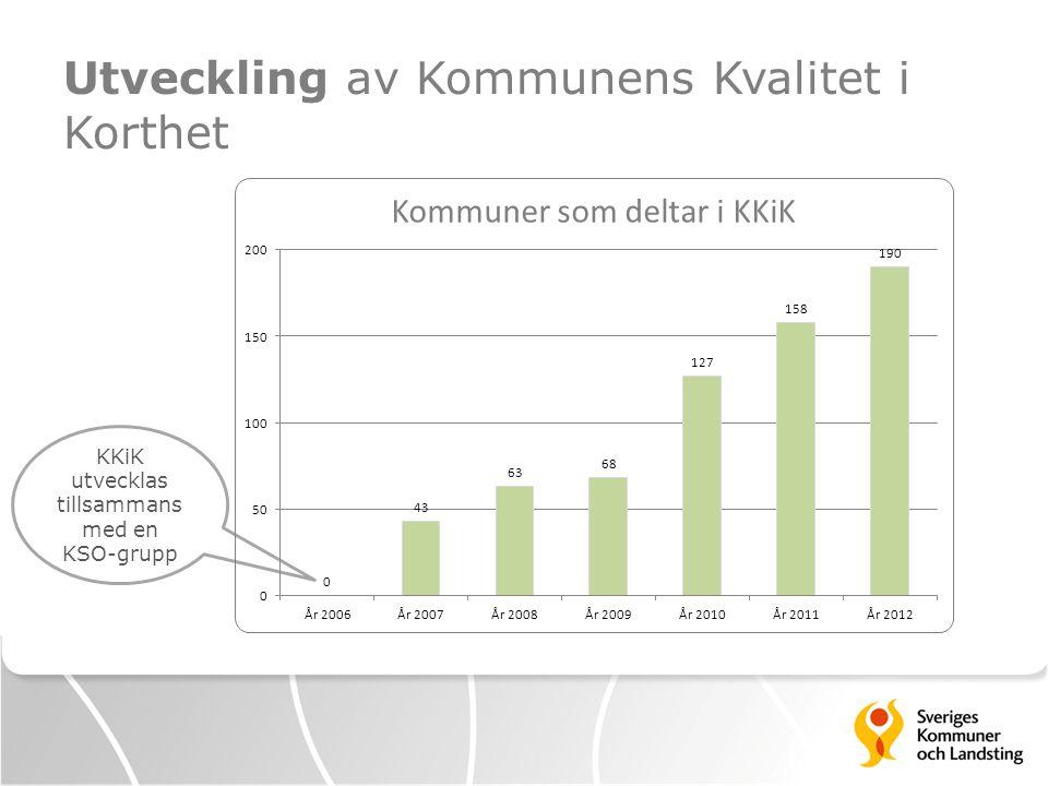 KKiK är framtaget ur ett KF-perspektiv KFNämndVerksamhet Antal mått