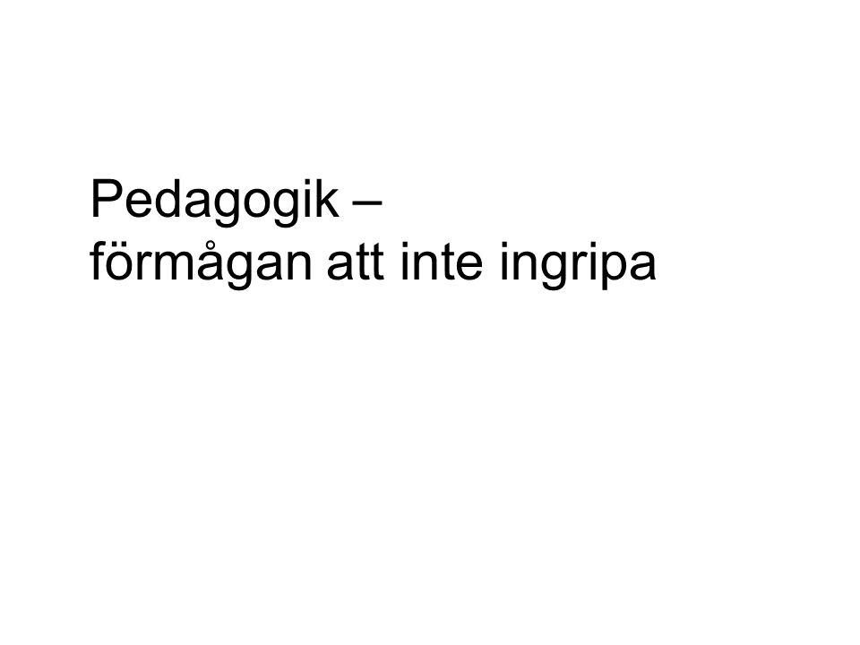 Del ur Lgr 11: Kursplan i svenska i grundskolan Undervisningen ska stimulera elevernas intresse för att läsa och skriva.