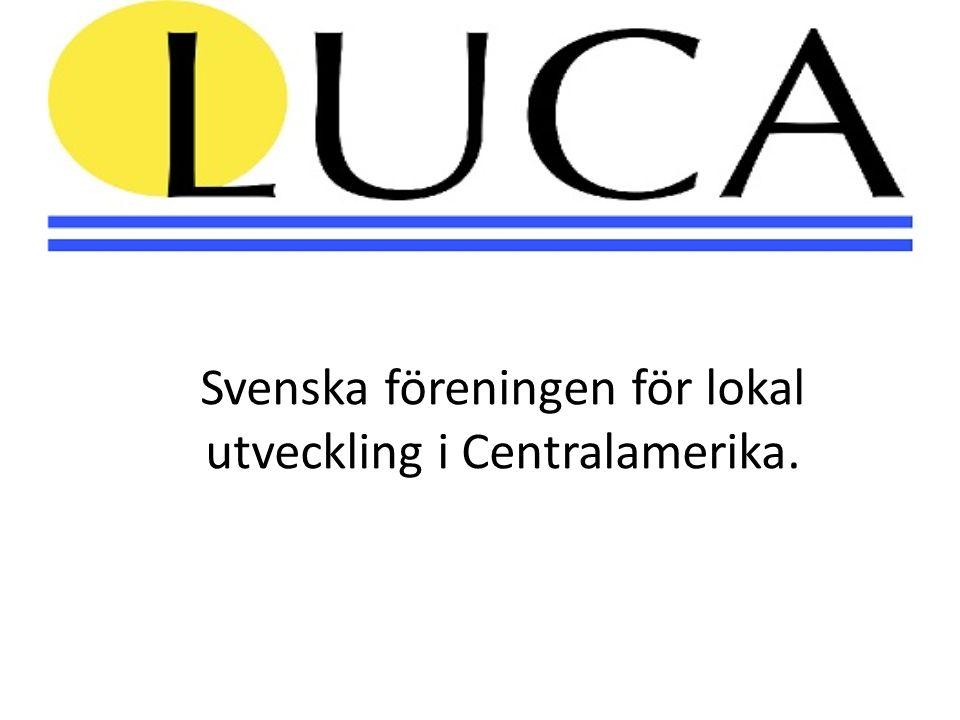 Svenska föreningen för lokal utveckling i Centralamerika.