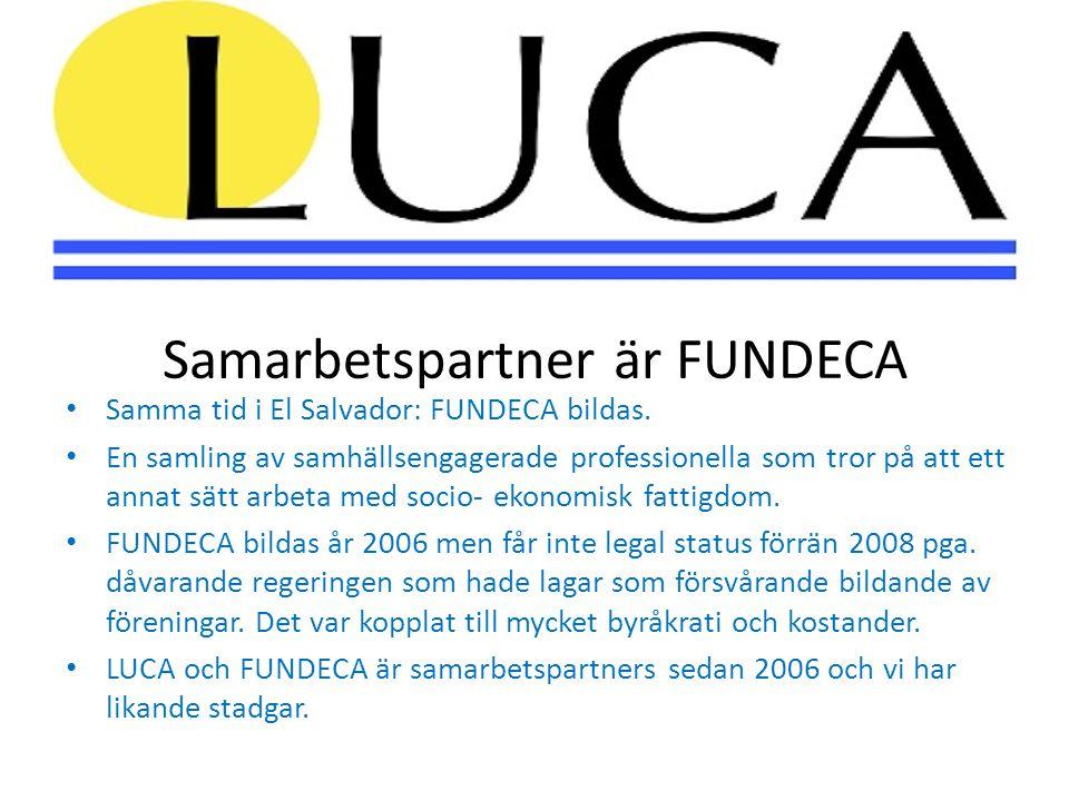 År 2007- 2010 • När och hur skulle LUCA göra ett konkret projekt.