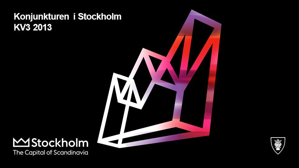 Konjunkturen i Stockholm KV3 2013