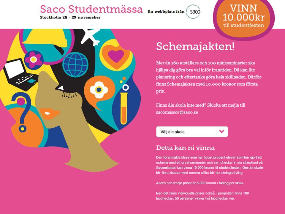 | Föredragsnamn, Föredragshållare, ååmmdd Mutade ungdomar = förberedda ungdomar? –www.saco.se/forbered/stockholmwww.saco.se/forbered/stockholm 8