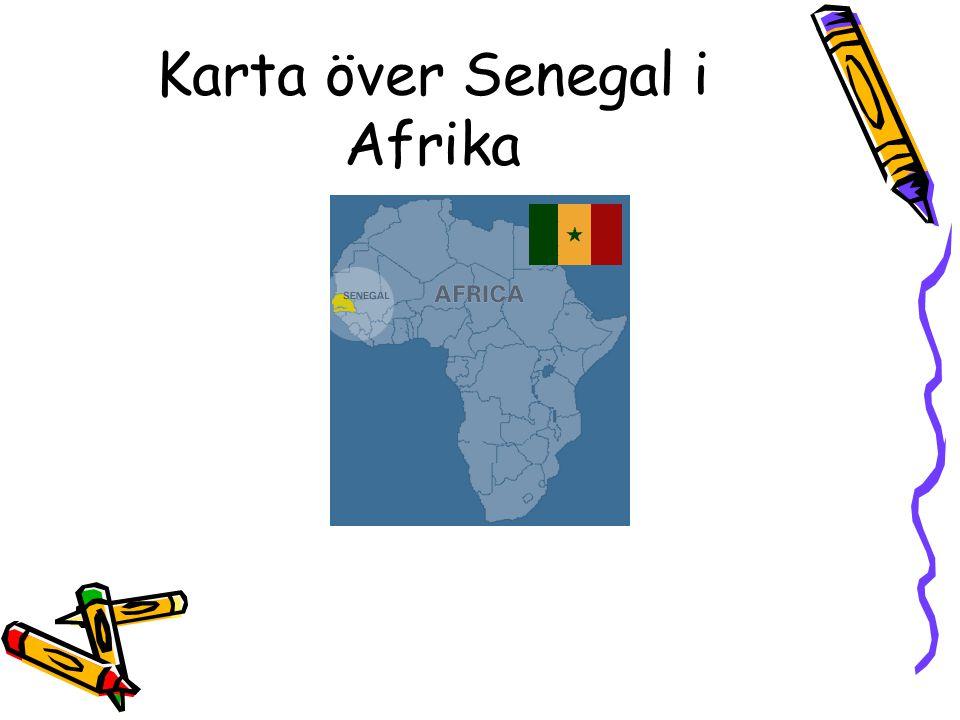 Senegal i Västafrika