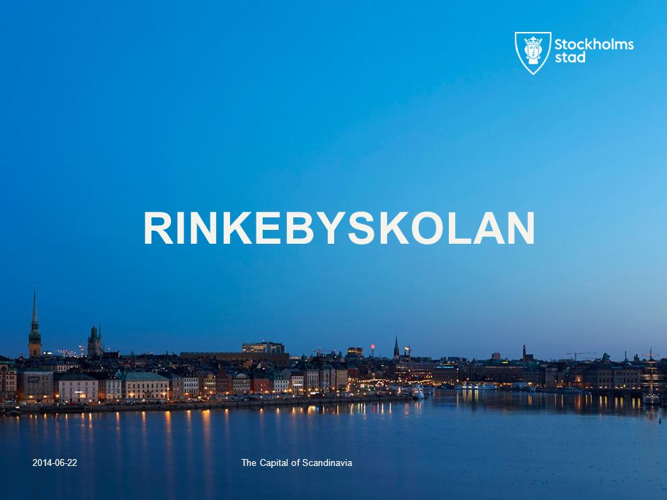 The Capital of Scandinavia 2014-06-22 RINKEBYSKOLAN