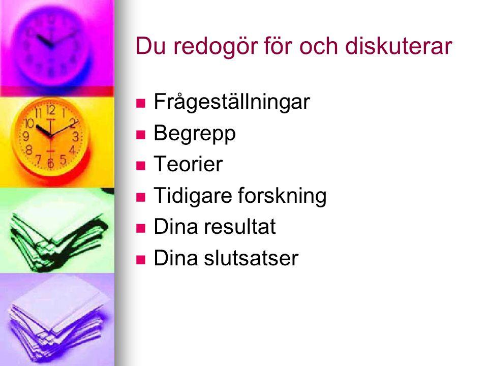 Tydliga samband Exempel: Exempel:  Denna, dessa, detta (den här...) I Ströms undersökning av exporten /.../.