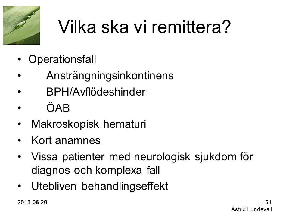 2013-01-262014-06-2251 Astrid Lundevall Vilka ska vi remittera.