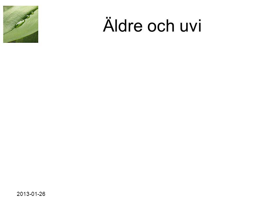 2013-01-26 Äldre och uvi