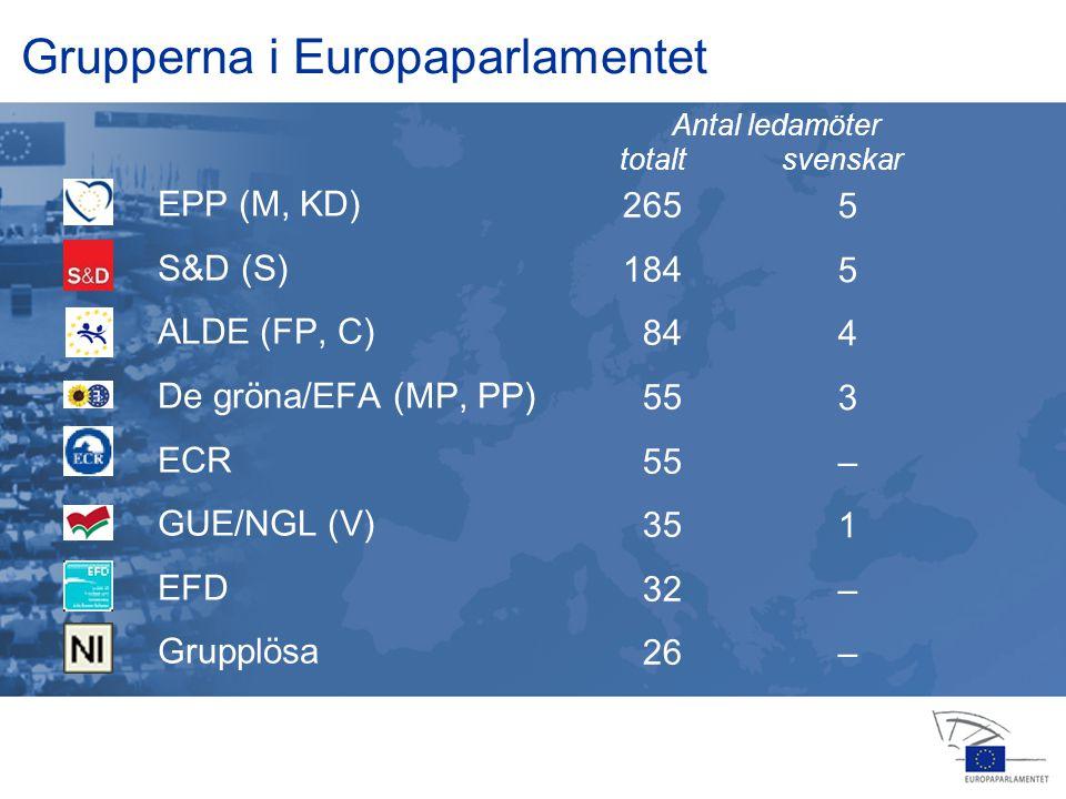 13 jan 2004 14 feb 20064 apr 2006 24 jul 2006 25 jul 2006 22 nov 200516 feb 2006 23 okt 2006 15 nov 2006 12 dec 2006 Grupperna i Europaparlamentet EPP