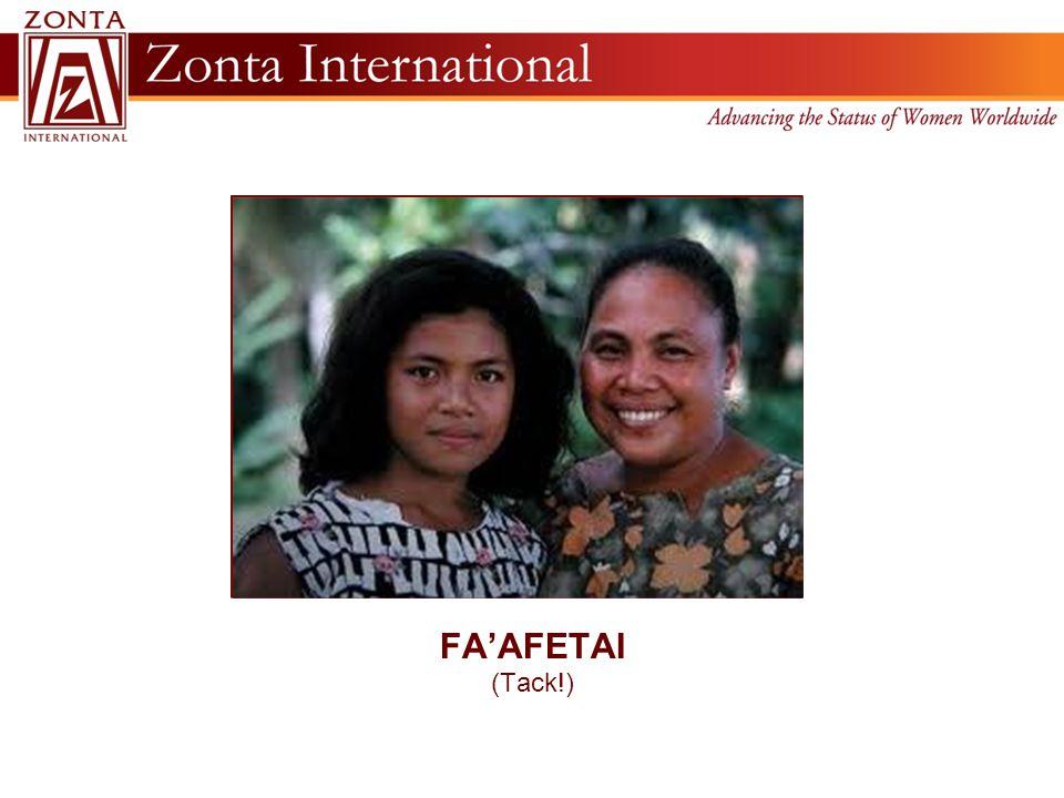 FA'AFETAI (Tack!)