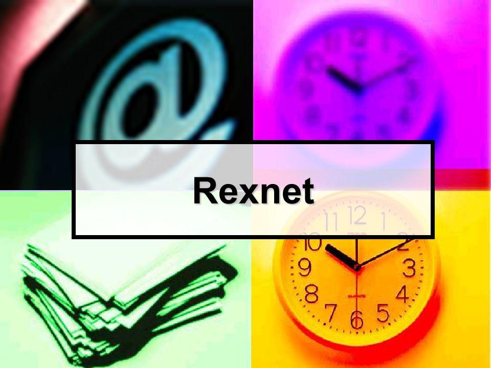 rexnet Bakgrund och historik  Snabbfakta  17.000 timmar pedagogik Den tid som pedagoger bidragit med i utvecklingsarbetet i Rexnet uppgår till ca 17.000 timmar under åren 2000-2002.