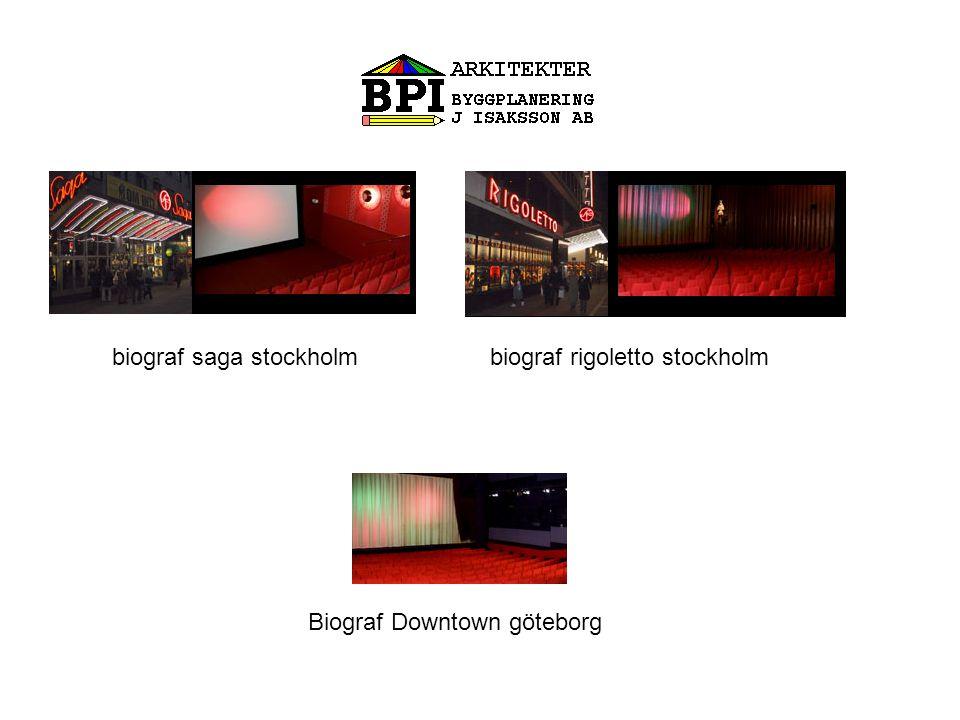 Biograf Downtown göteborg biograf rigoletto stockholmbiograf saga stockholm