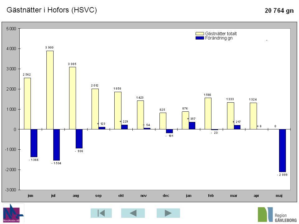 Gästnätter i Hofors (HSVC)