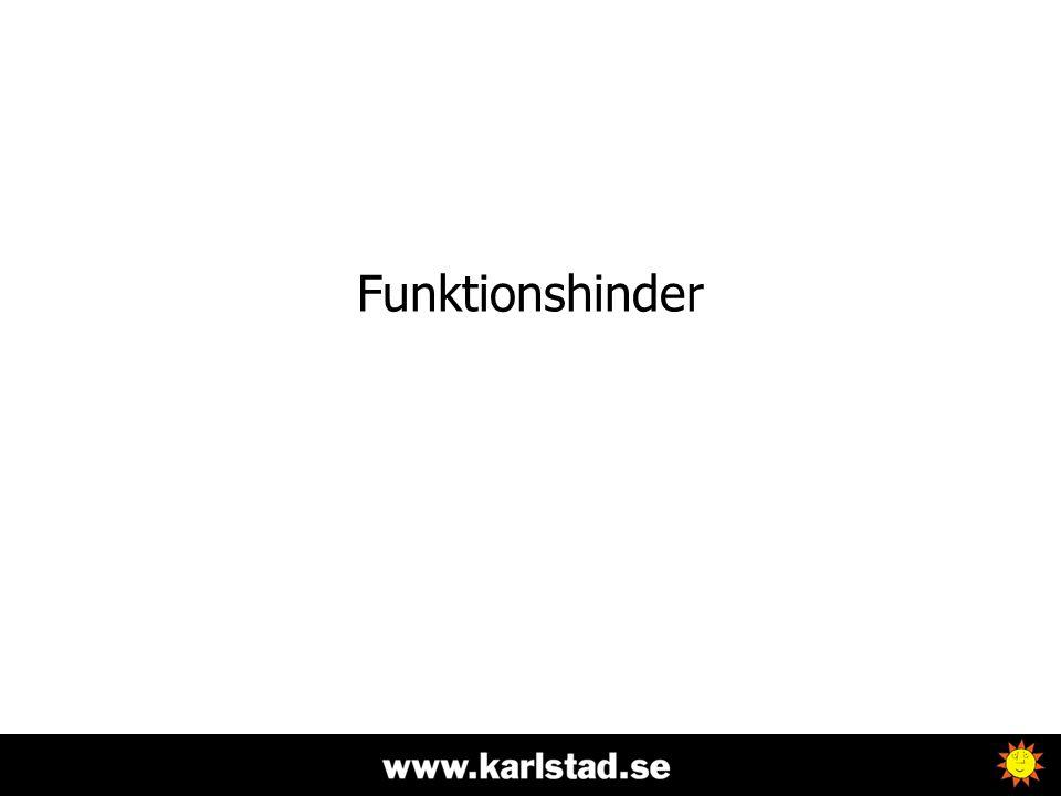 Funktionshinder