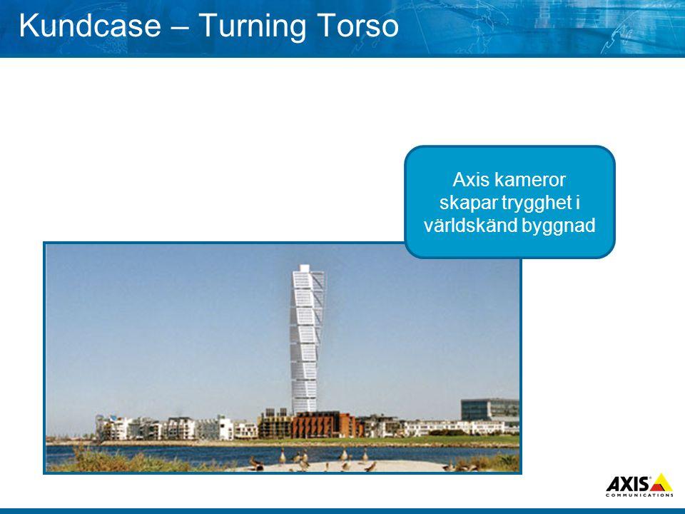 Kundcase – Turning Torso Axis kameror skapar trygghet i världskänd byggnad